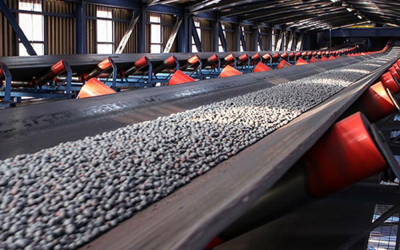 آغاز تولید گندله خام اولیه در کارخانه گندله سازی شرکت توسعه فراگیر سناباد