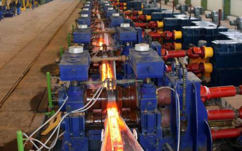 بازگشت یک خط نورد فولاد بناب به مدار تولید
