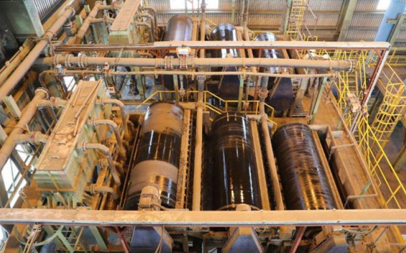 تولید 8.1 میلیون تن کنسانتره در گل گهر/ گل گهر از غبار، 119 هزار تن کنسانتره تولید کرد