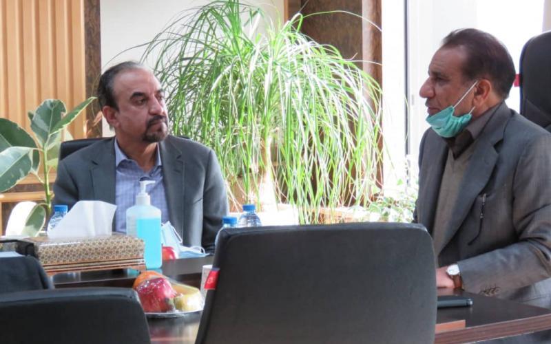 دکترمحمدحسین بصیری سرپرست هلدینگ  گسترش صنایع و معادن ماهان ماهان شد.
