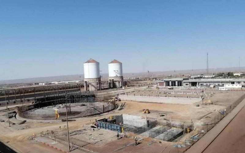 فاز 2 فولاد بافت با جدیت در حال اجراست/ امسال 800 هزار تن آهن اسفنجی تولید میکنیم